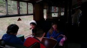Steam train trip