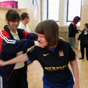 Congleton - self defence