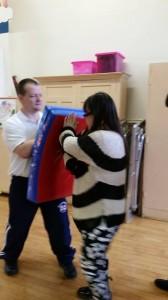 Congleton - self defence